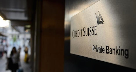 Credit Suisse beats forecasts for first quarter