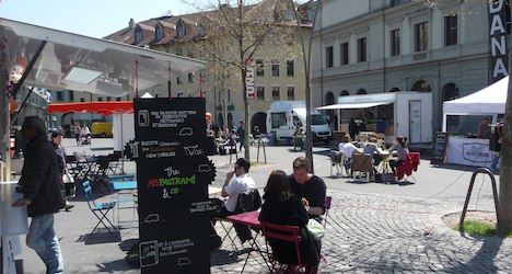 Street food (finally!) surfaces in Swiss cities