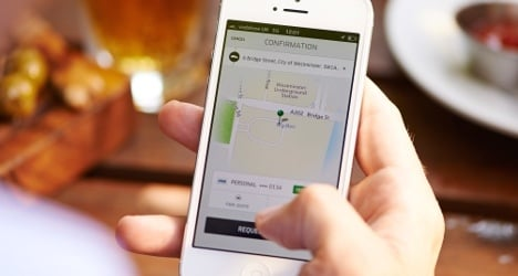 Uber to appeal Geneva ban on its car ride app