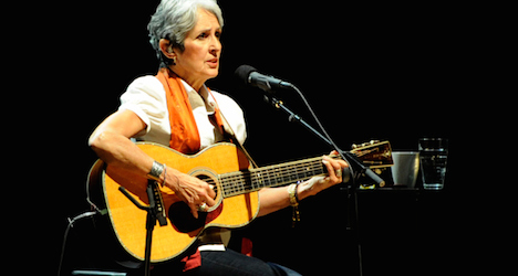 Joan Baez and Sting in lineup set for Paléo