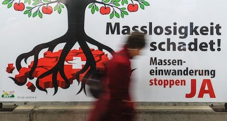 Immigration remains 'top issue' of Swiss voters
