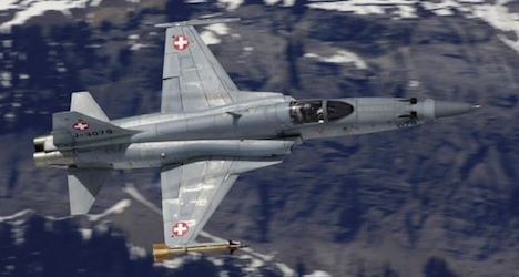 Swiss Air Force to scrap ten faulty fighter planes
