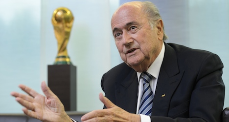 Blatter says Fifa will expel guilty officials