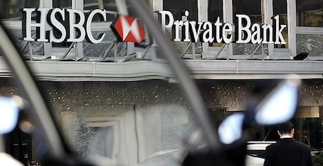 Geneva issues cloud positive HSBC results