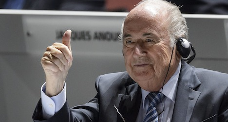 Blatter appeals for unity at Fifa congress