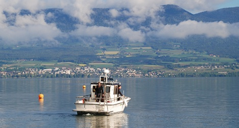 Scientists find craters beneath Lake Neuchâtel
