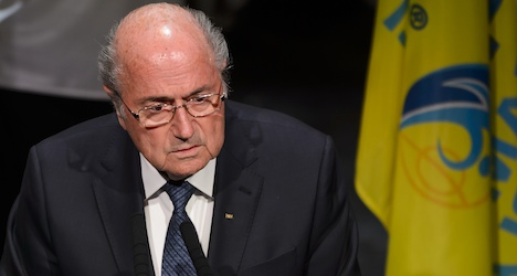 Blatter rejects calls to quit as Fifa meet opens