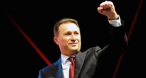 Macedonian PM's plane makes forced Zurich stop