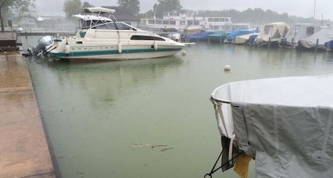 Water levels remain 'critical' in canton Bern