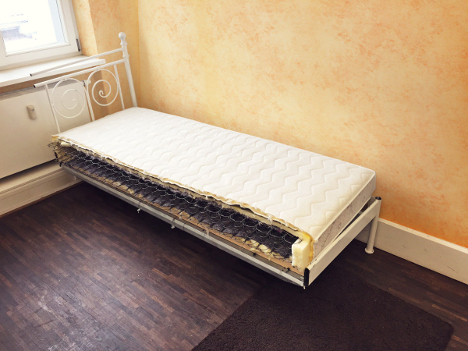 Half of the marriage bed. Photo: Ebay