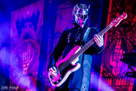 The ghoulish fiends of Ghost were just one of the more than 40 bands at Copenhell. Photo: Lykke Nielsen