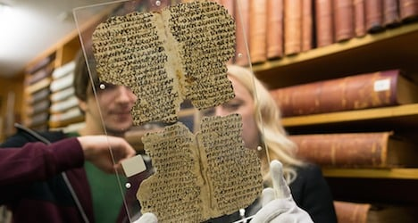 Ancient papyrus texts found in Basel uni library