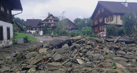 Two die as rain storms lash central Switzerland