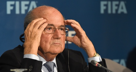 Swiss media welcome Blatter's surprise move