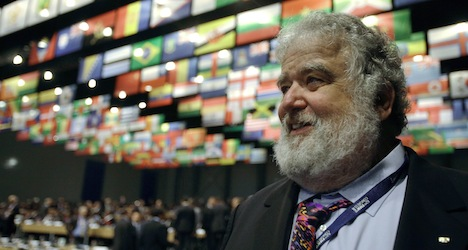 Fifa bans ex-official for life over massive bribes