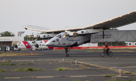 Solar Impulse grounded in Hawaii for repairs