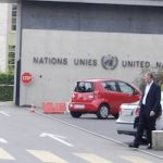 High costs force unpaid UN intern to live in tent