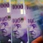 Franc at lowest euro level since February