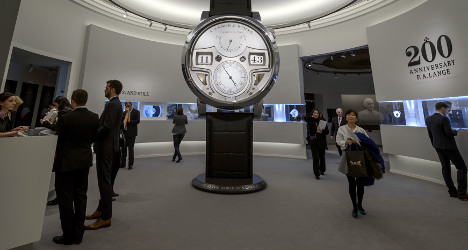 Swiss watchmakers jittery over China chaos