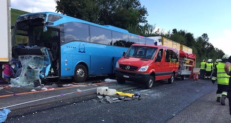Welsh bus crash leaves five in Swiss hospitals