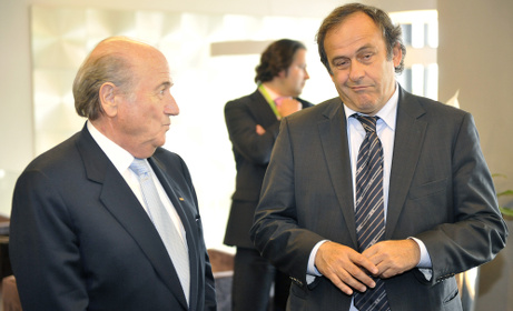 Fifa: Blatter a 'suspect' as Platini 'questioned'