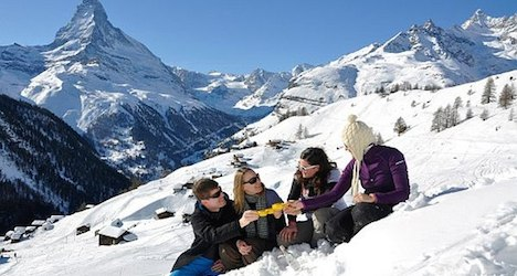 Surprise! Swiss like to holiday in the mountains