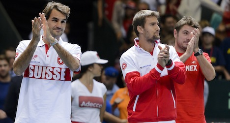 Federer casts doubt over Davis Cup future in 2016