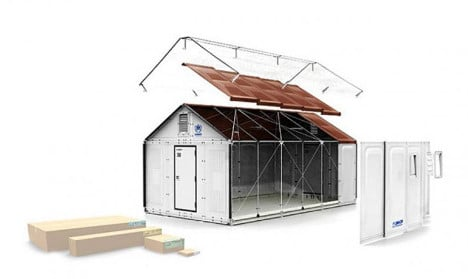 Swiss canton to use Ikea kit homes for refugees