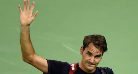 Federer crashes early out of Shanghai Open