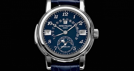 Patek Philippe watches sold for record prices