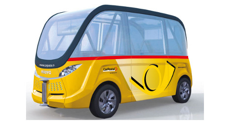 Driverless buses to launch in Switzerland