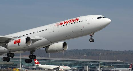 Plane from US forced to abort Geneva landing