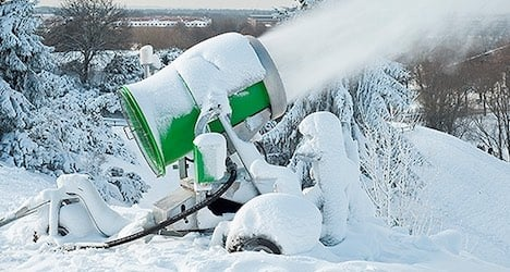Artificial snow 'could make you sick': report