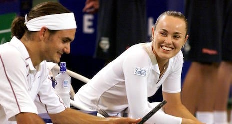 Federer 'to play with Hingis in 2016 Olympics'