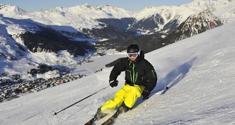 Skier dies after crashing into snow-making unit