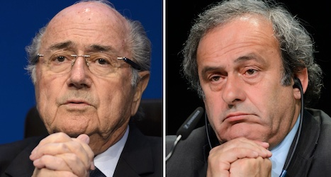 Fifa bans Blatter and Platini from football