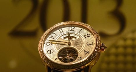 Swiss watch exports drop for first time since 2009