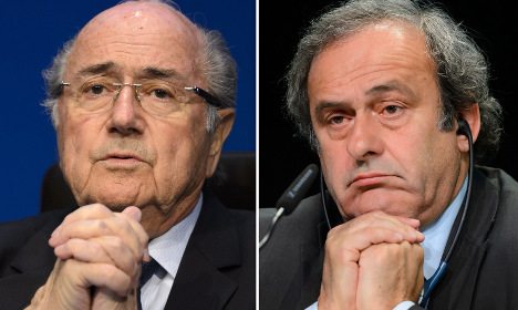 Blatter and Platini now free to appeal bans