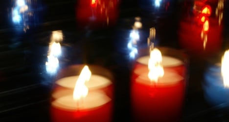 Christmas candle fire leaves family homeless