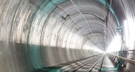 Pomp and fanfare set for Gotthard tunnel opening