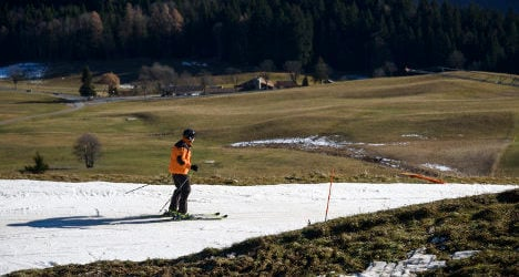 Is climate change ruining skiing in the Alps?