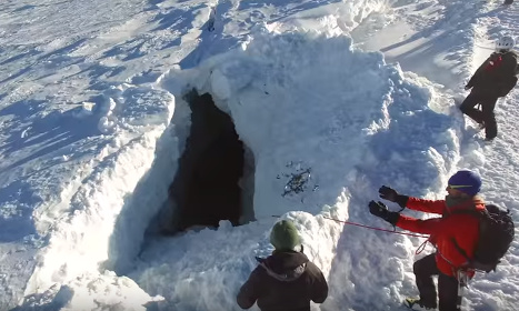 VIDEO: Drone takes you to the heart of Swiss glacier