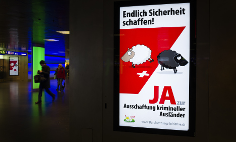 Swiss reject proposal to expel criminal foreigners