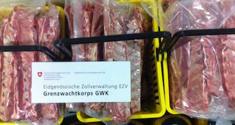 Dutchman on ski holiday nabbed for smuggling meat