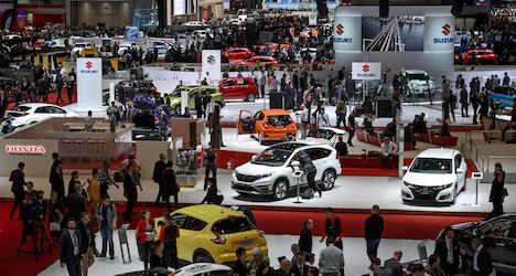 Geneva car show gears up for 2016 edition