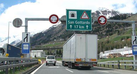 Voters give green light to new Gotthard road tunnel