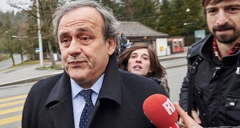 Platini turns up at Fifa HQ to appeal ban