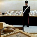 Looted artefacts restored to Italy from Geneva