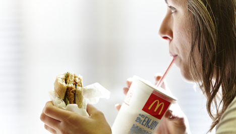 Swiss lose appetite for Big Macs and fries