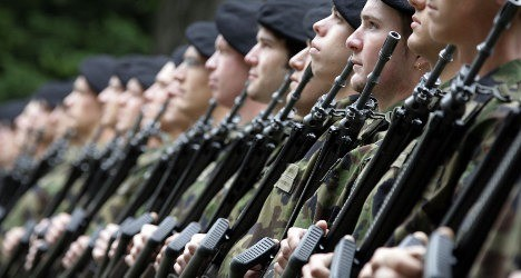 333 Swiss declared 'too dangerous' for military service